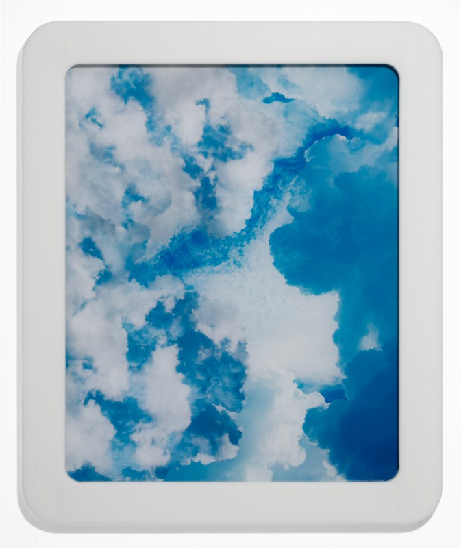 In den Wolken 1, 2015, C-print silicone mounted on plexi, 58 x 48 cm, edition of 5