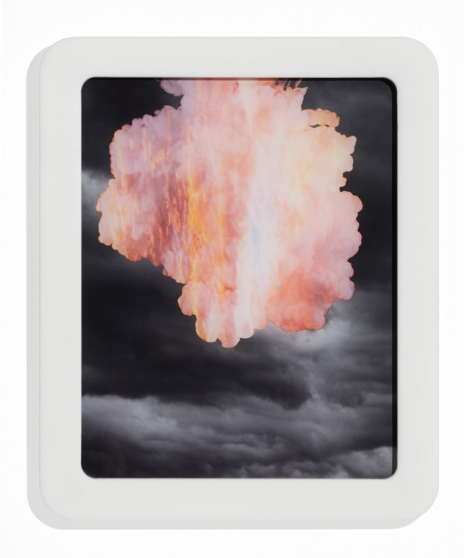 In den Wolken 2, 2015, C-print silicone mounted on plexi, 58 x 48 cm, edition of 5