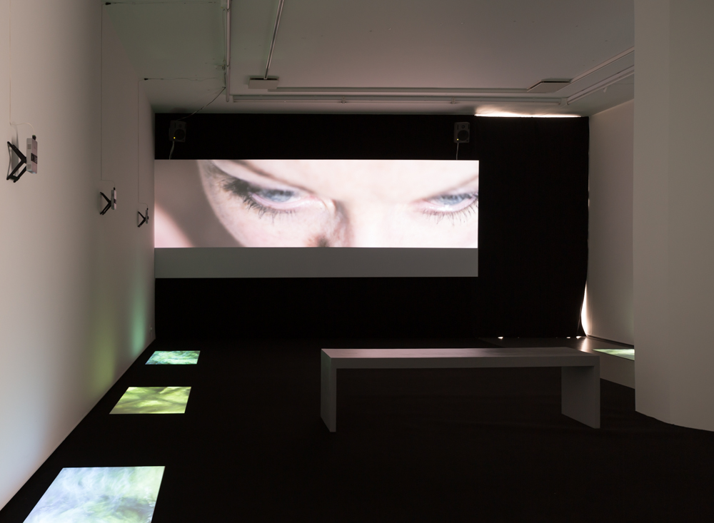 Taste of Salt, 2013, installation view