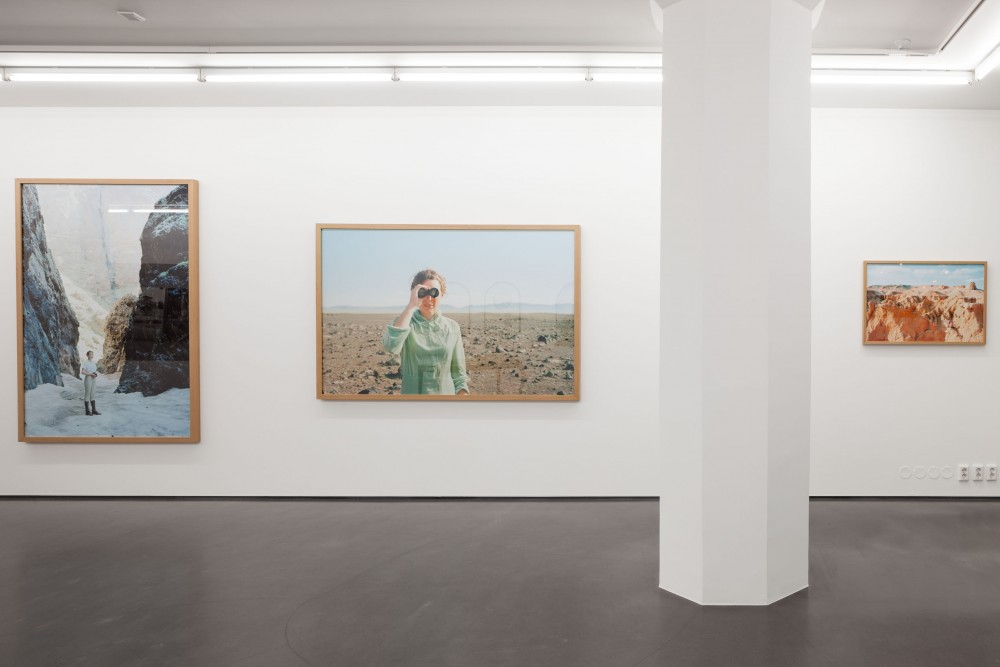 Installation view, Presence of the Past, works by Tonje Bøe Birkleand