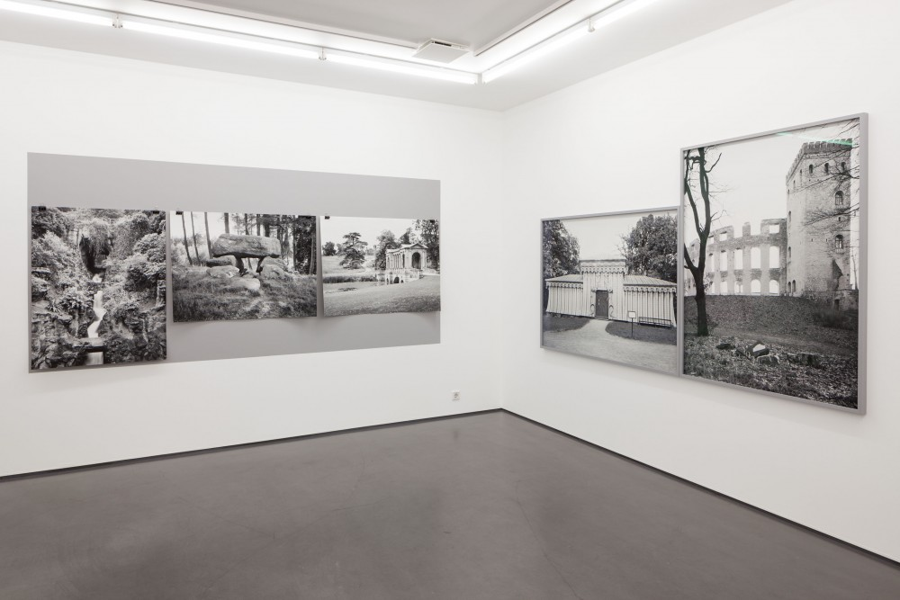 Installation view, Presence of the Past, works by Martin Tebus Karlsson