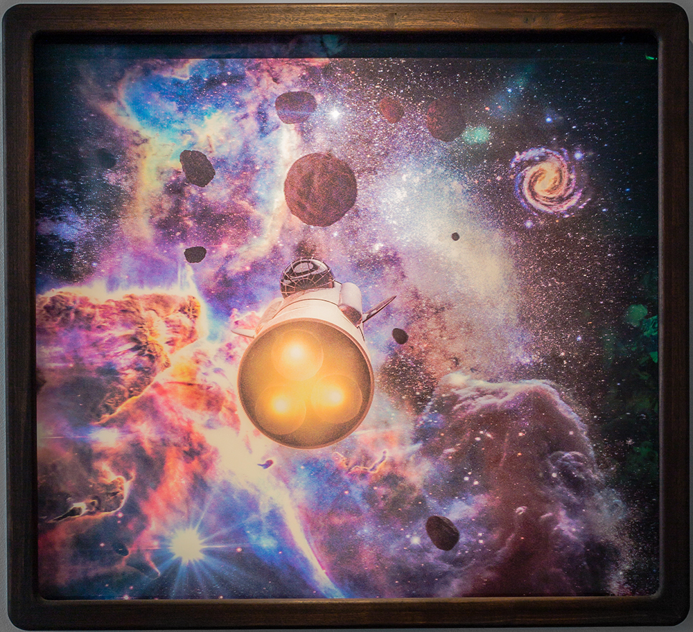 Among Asteroids, 2014, lenticular print, 105 x 115 cm, edition of 3