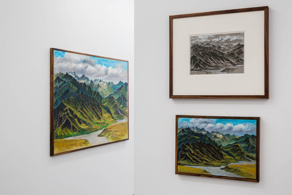 Installation view, NZME