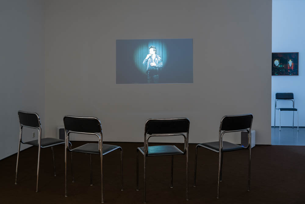 Installation view, The Comedy Store and Other Stories