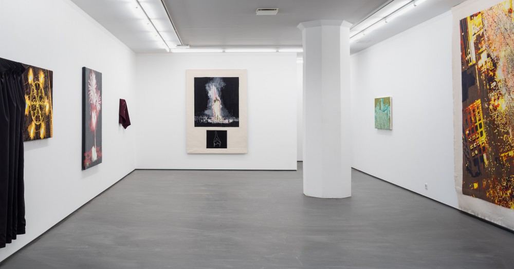 A Fire That Never Dies, installation view