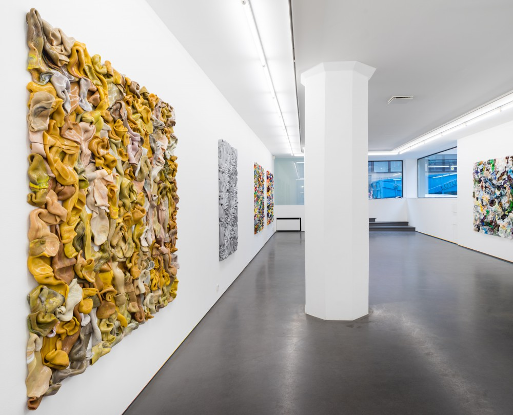 Altered Measurements, Clear Painting, installation view