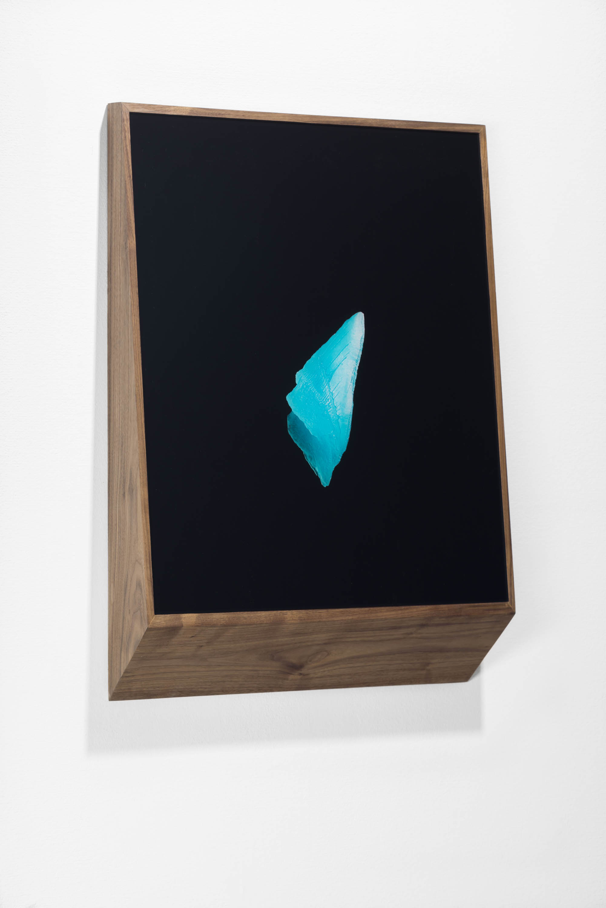 Between Pearl and Petroleum (II), 2016, C-print on plexi, walnut frame, 73 cm x 52 cm x 11 cm, edition of 3