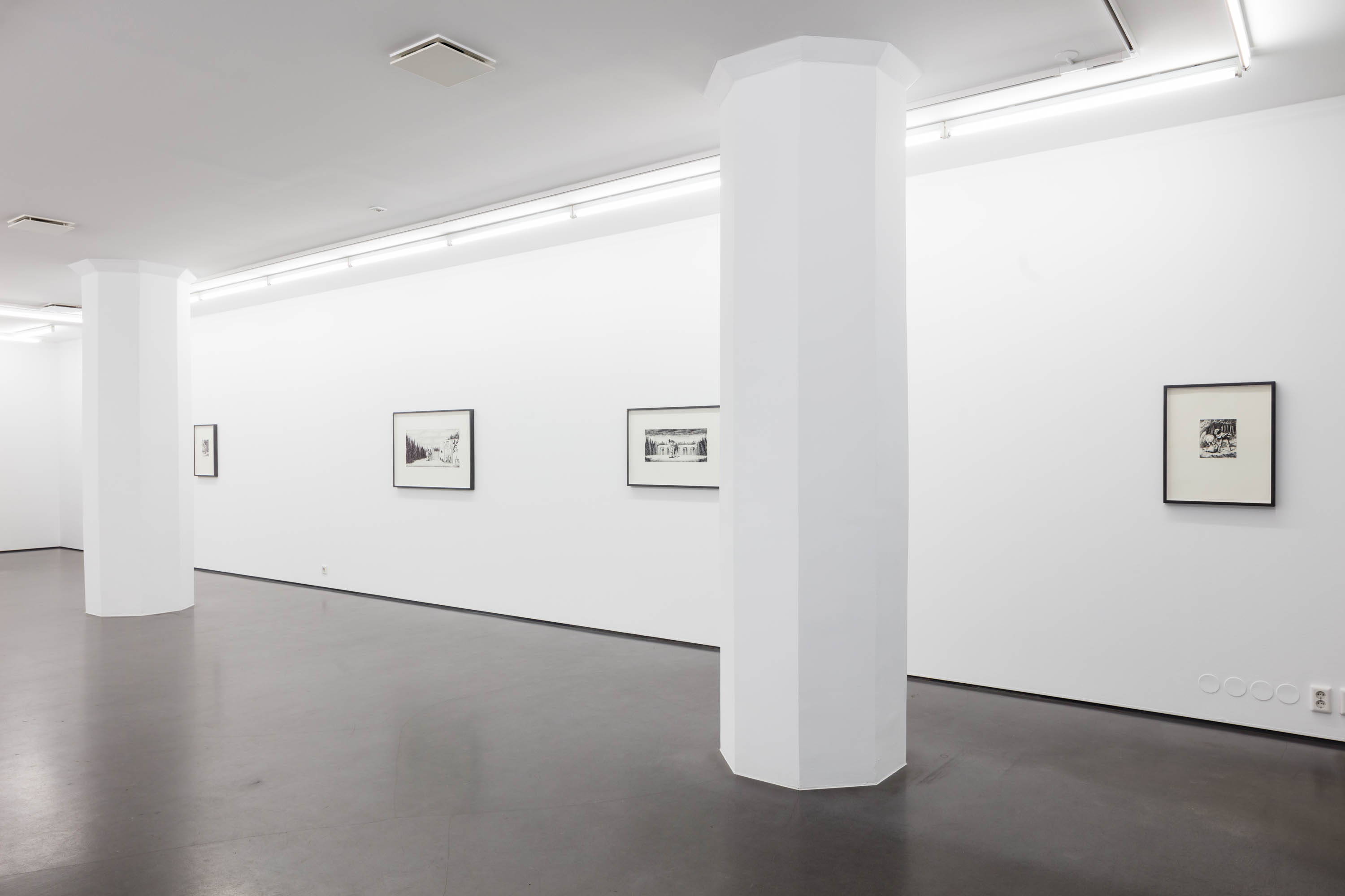 Subterranean, Installation view
