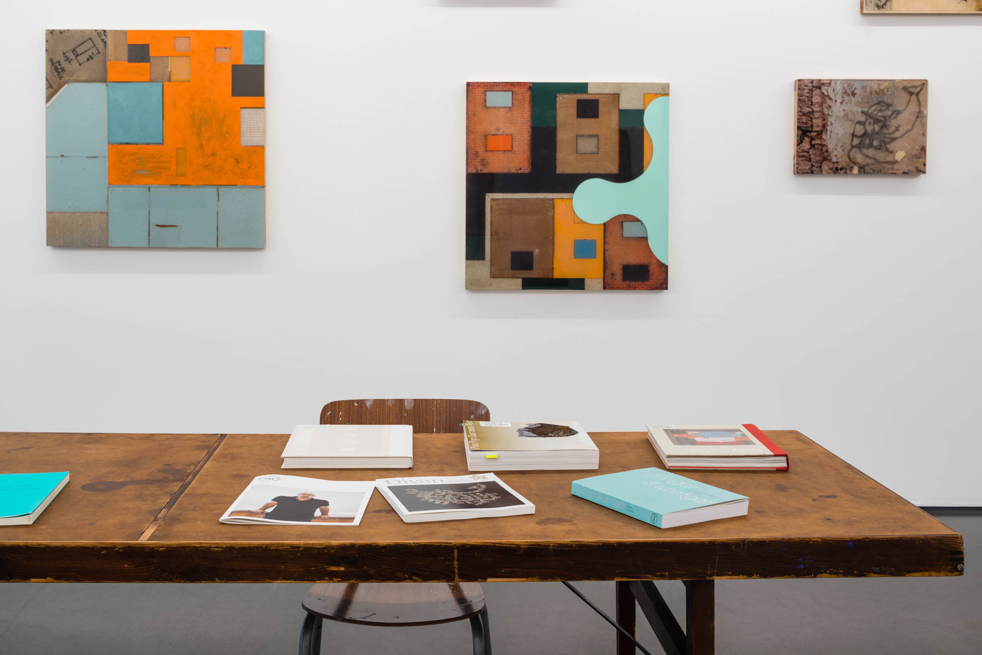 Clay Ketter, Q & A, painting objects, 25 August–1 October 2016