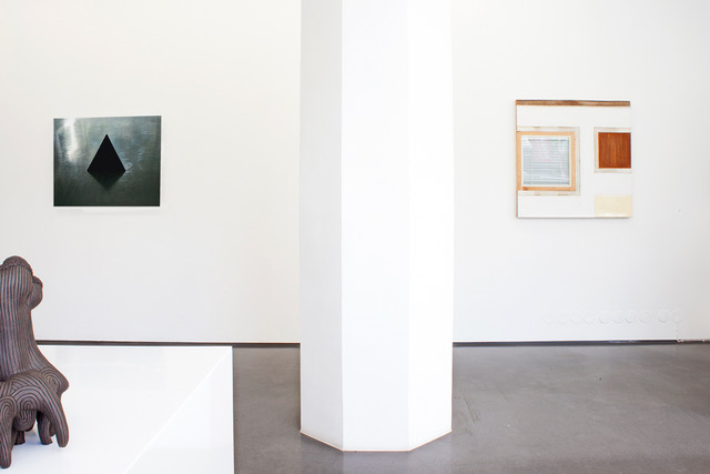 Installation view, Sculpture Unleashed, Cecilia Hillström Gallery, 2018. Photo: Linda Hofvander