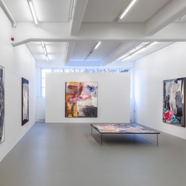 Sigrid Sandström, Dry Maars, painting, 30 March–11 May 2019