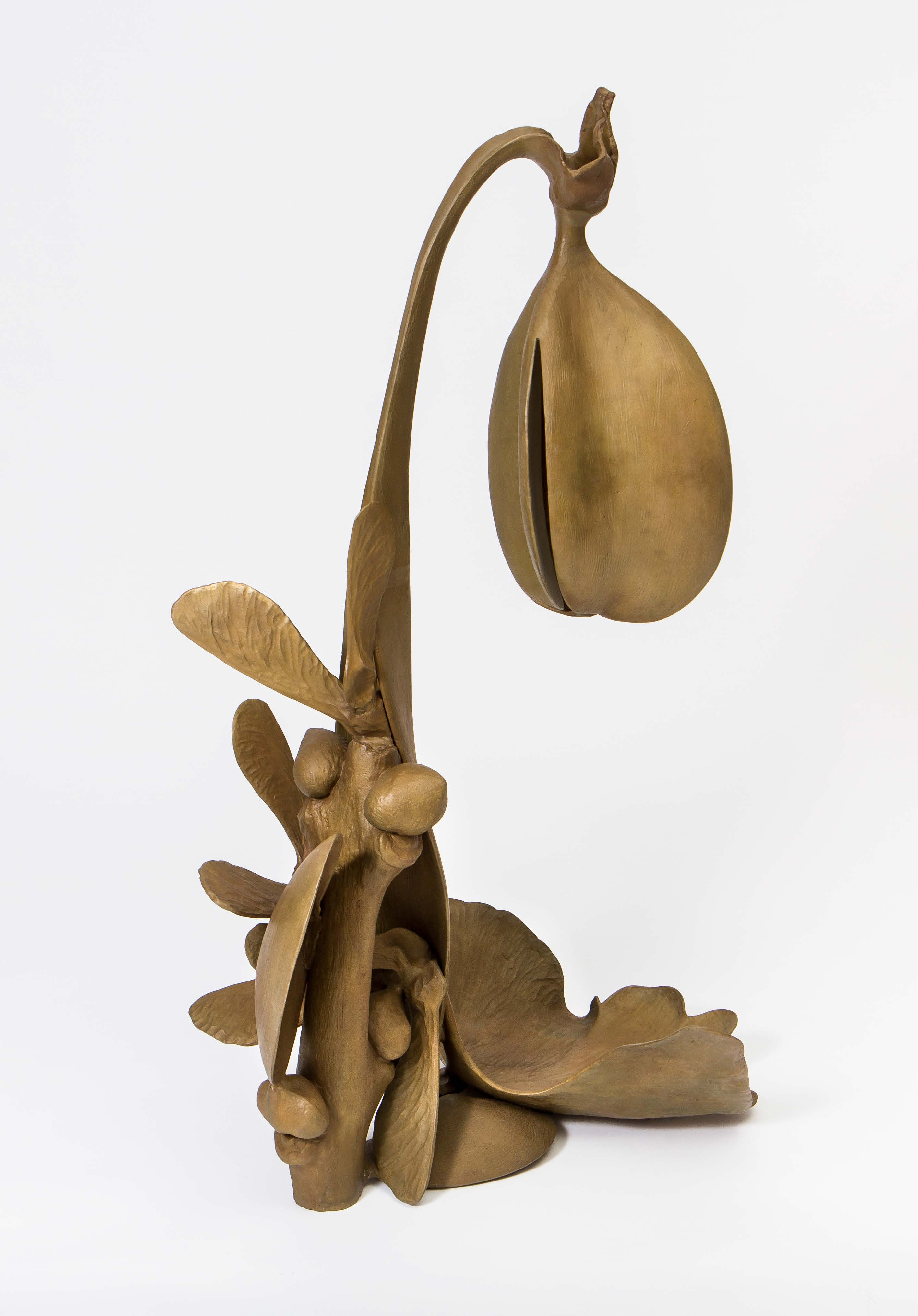 Carl Boutard, 5 – 10 – 20: 1, 2010, bronze, 105 x 60 x 45 cm, edition of 3