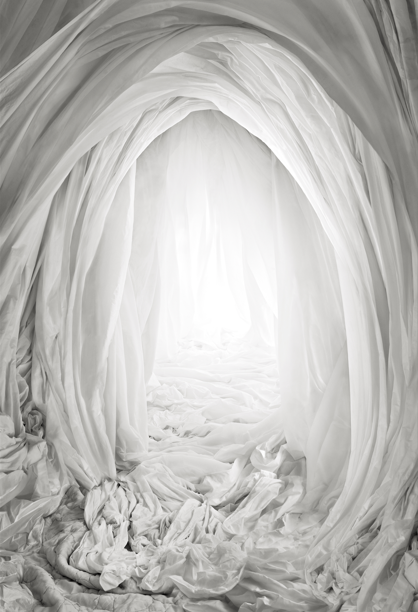 Lucid Cave, 2020, Silver gelatin print mounted on aluminium, museum glass, walnut frame, 146 x 101 cm, edition of 5