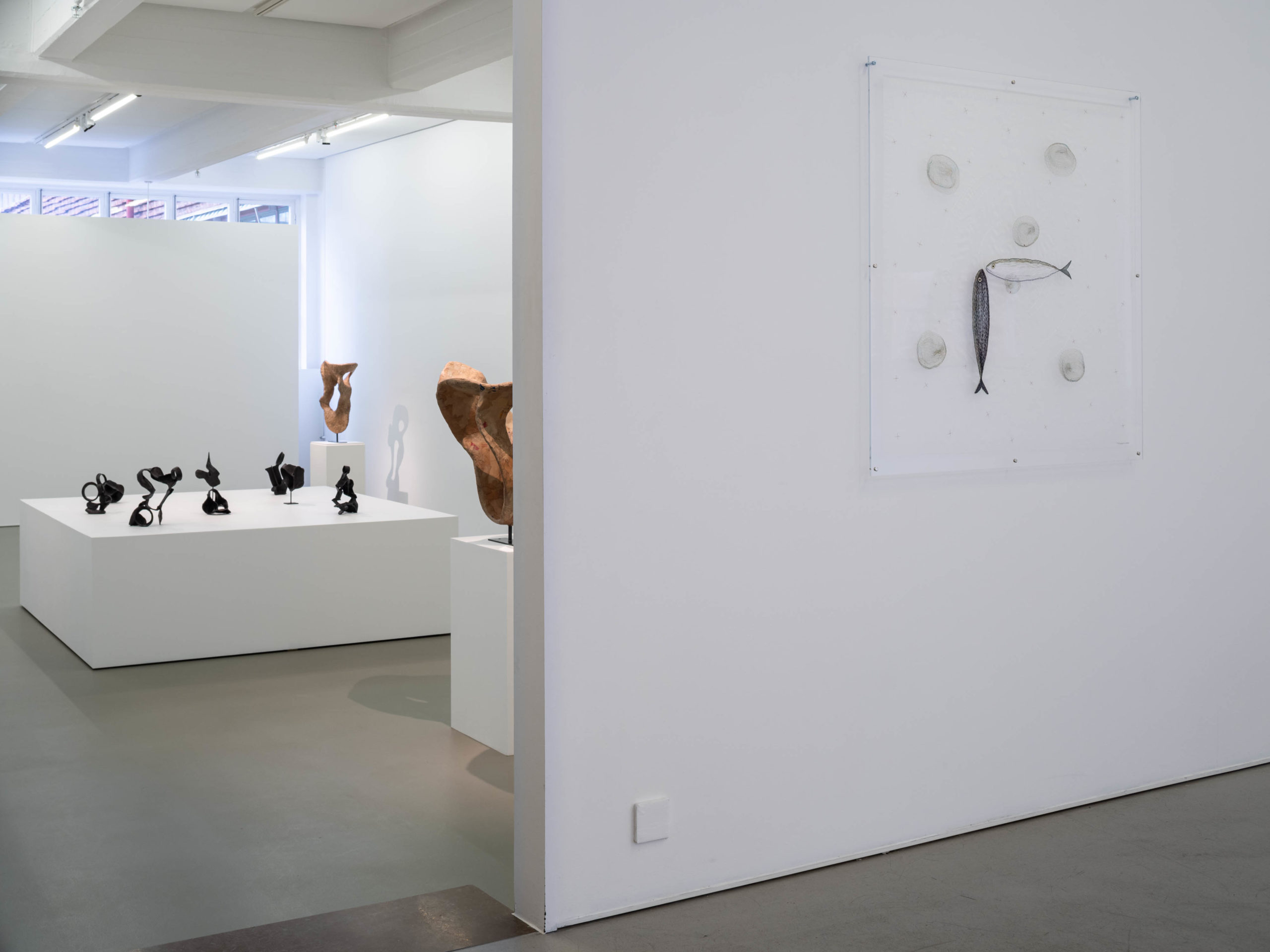 Carl Boutard, Paper Space, 2020, installation view. Photo: Jean-Baptiste Béranger