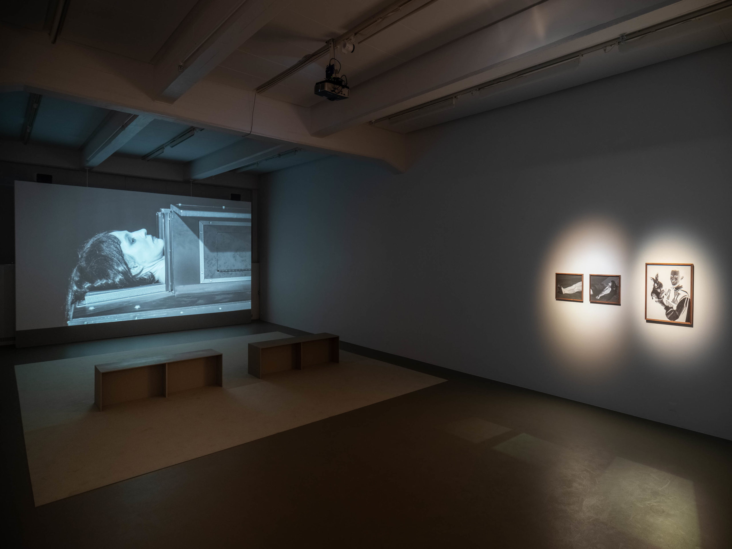 Installation view, Tova Mozard, The Mismade Girl, 2020, Cecilia Hillström Gallery. Photo: Jean-Baptiste Béranger