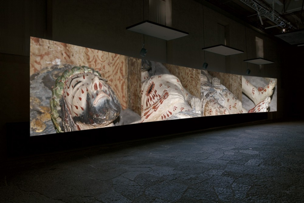 Mats Hjelm, Deliverance, 2005, video installation, Index, Stockholm