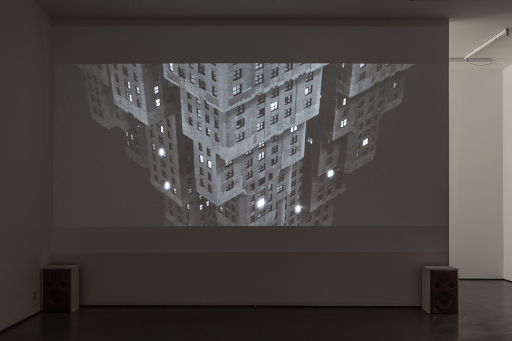 Dear Jesus, Do Something!, installation view, HD video with stereo sound, 24 min, ed 5