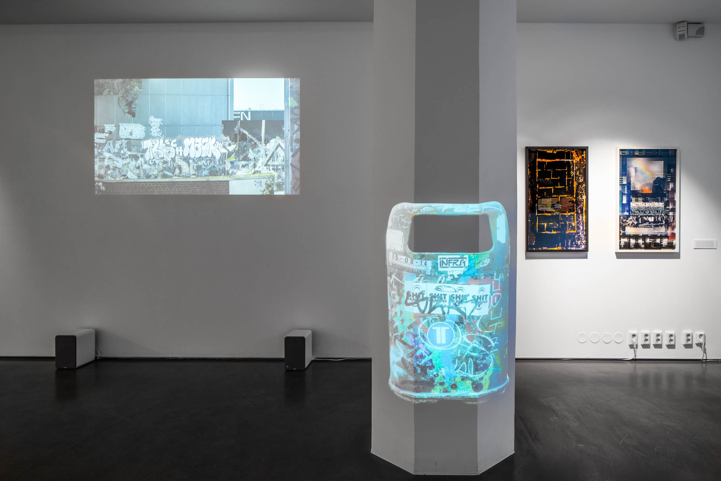 Installation view, Rest in Paint