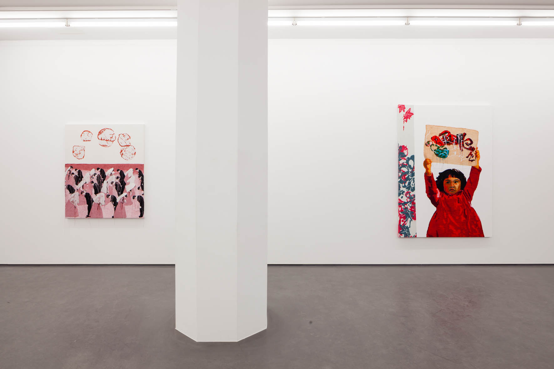 This is Not Graffiti, installation view