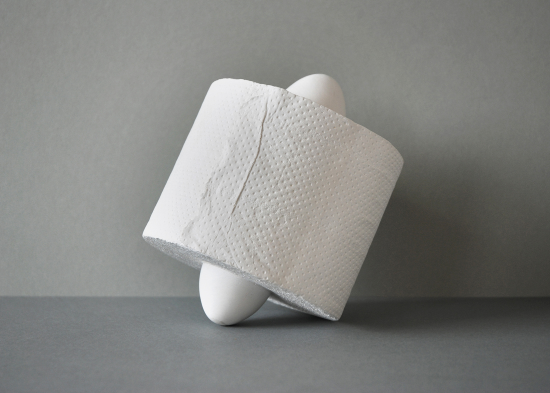 Kristina Matousch, Double Penetration, 2017, plaster, 15 x 10 x 10 cm, edition of 11