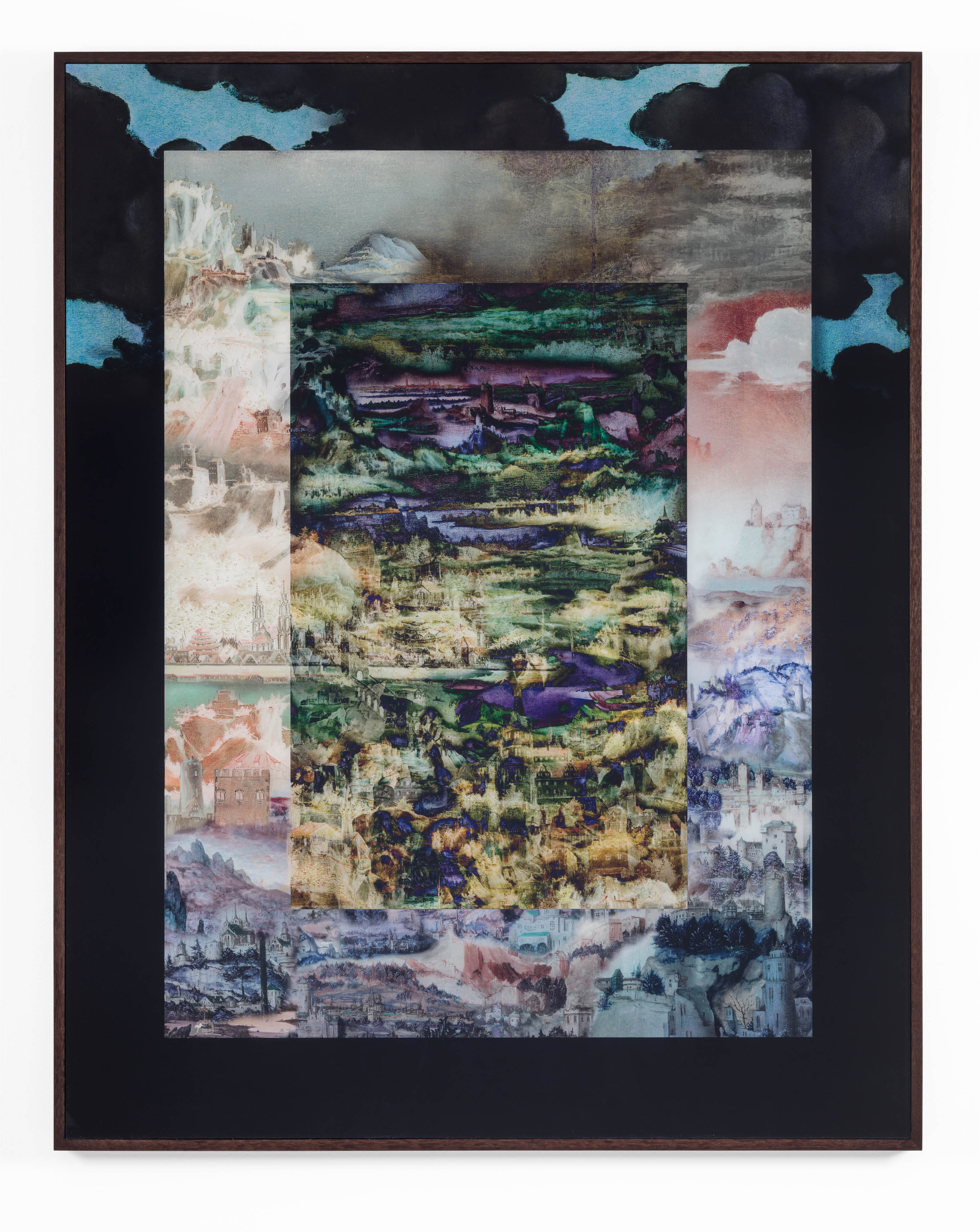 David Molander, Anagram, 2017, Diasec mounted inkjet print, acrylic glass, oak frame, 143 x 113 cm, edition of 5