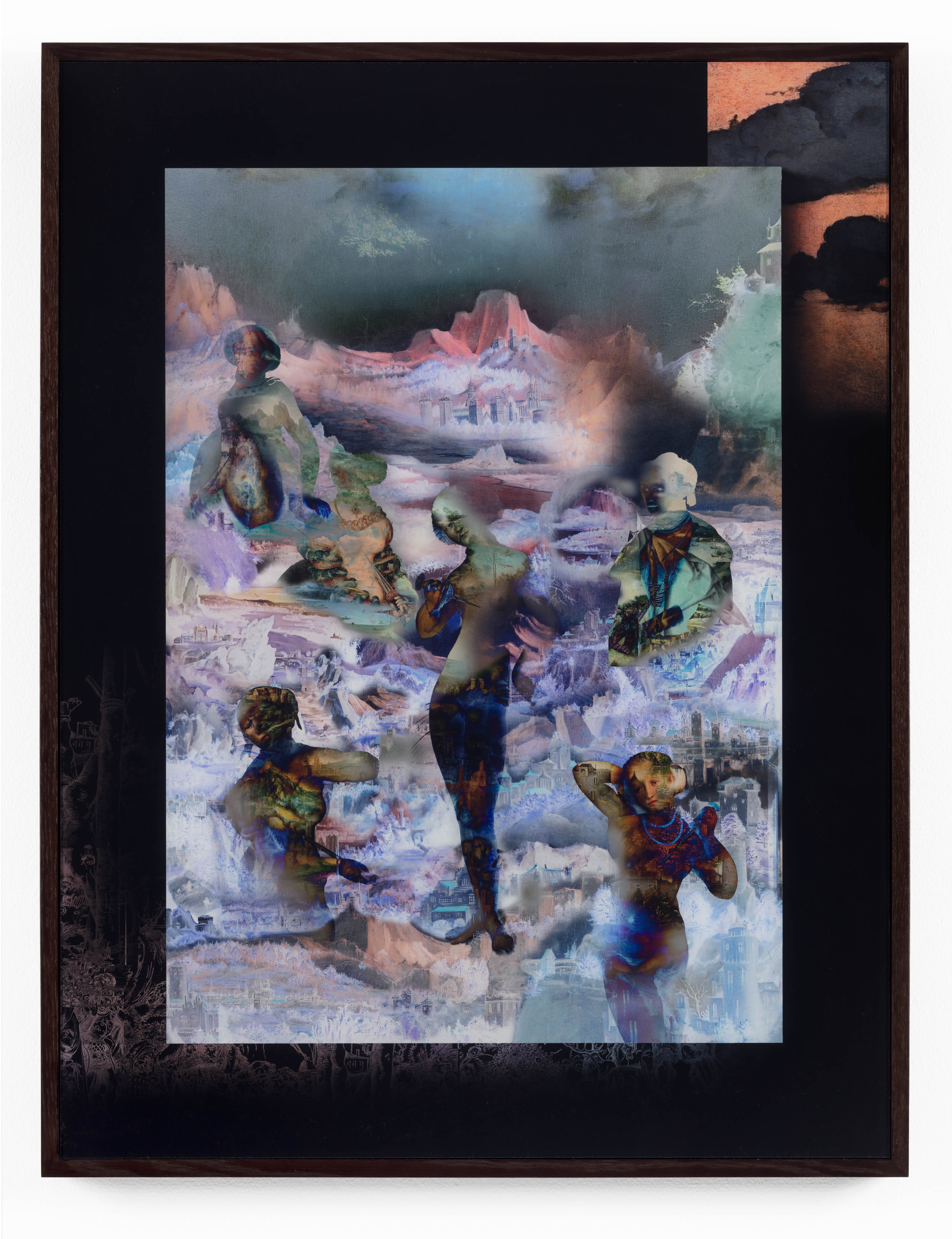 David Molander, Lucretia, 2017, Diasec mounted inkjet print, acrylic glass, oak frame, 93 x 71 cm, edition of 5