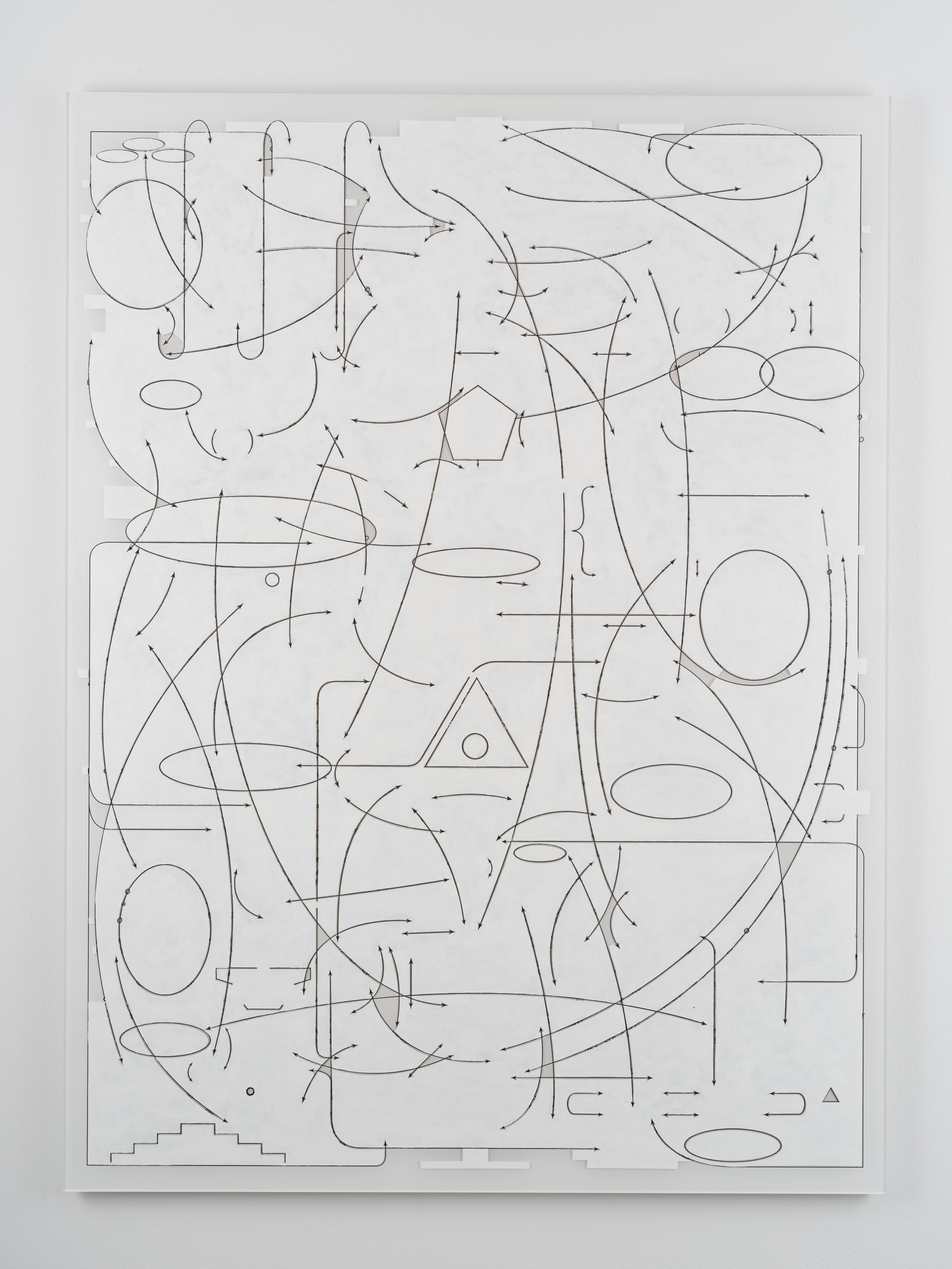 Clay Ketter, Conspiracy Transcended, 2019, Oil paint on Diasec mounted photo, 160 x 120 cm