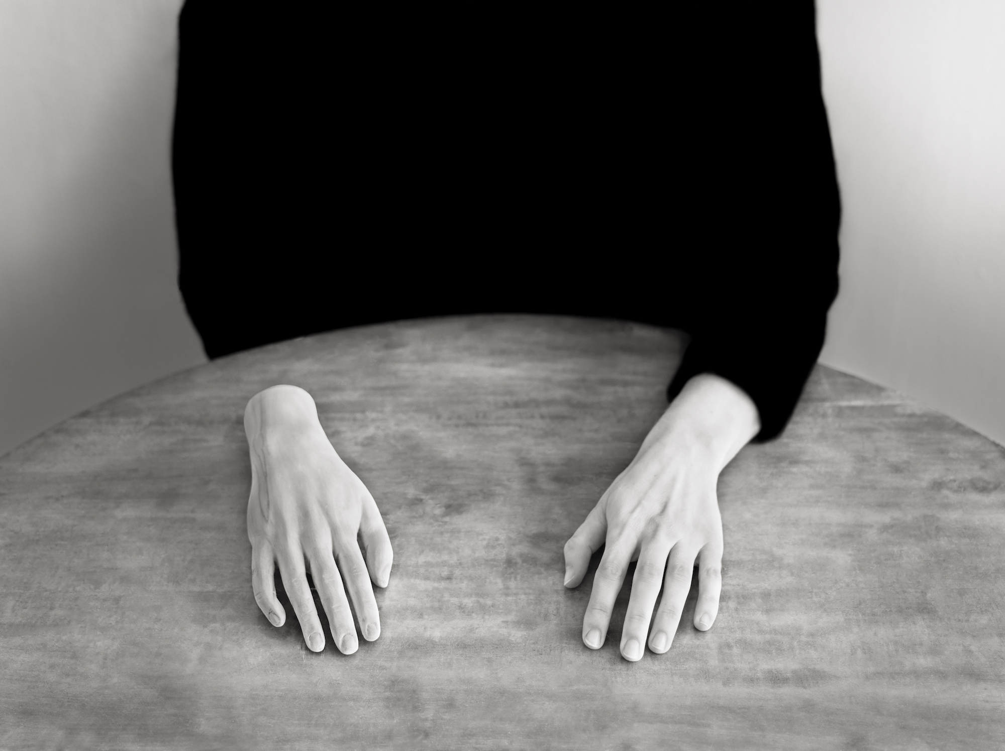 Lovisa Ringborg, The Other Hand, 2020, Silver gelatin print mounted on aluminium, museum glass, walnut frame 52,5 x 69 cm, edition of 5
