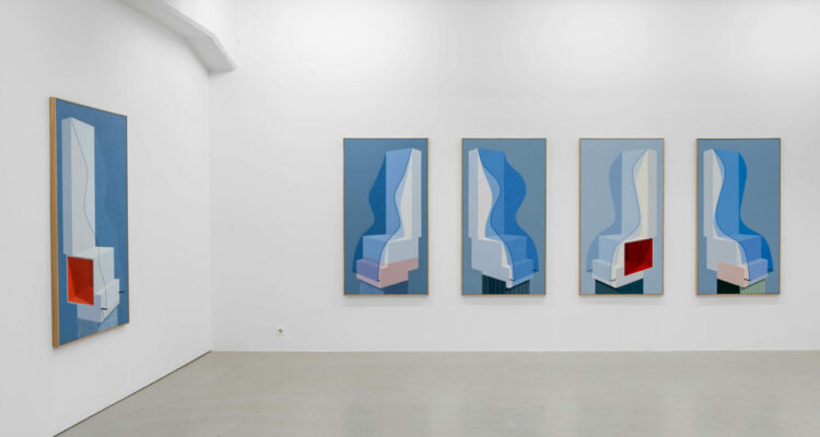 Elin Odentia, The Waves, painting, 12 November–19 December 2020