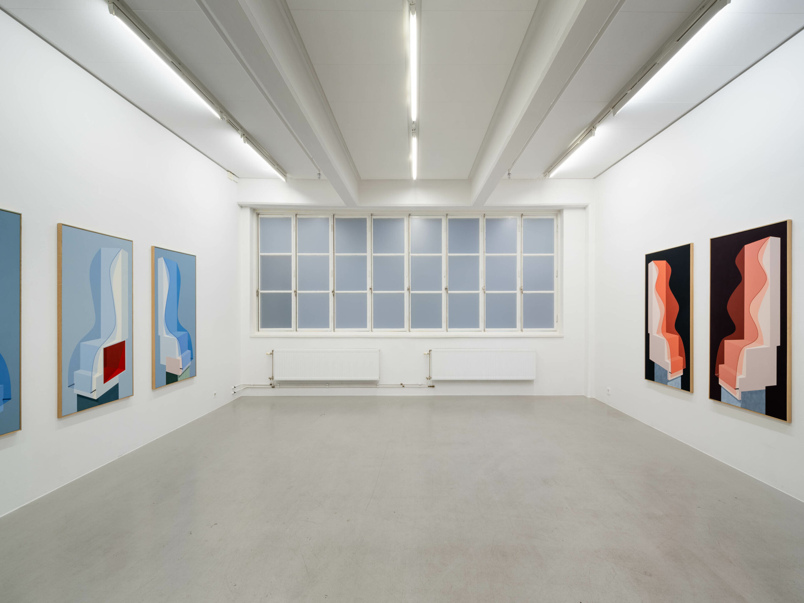 Installation view, Elin Odentia, The Waves, 2020, Cecilia Hillström Gallery. Photo: Jean-Baptiste Béranger
