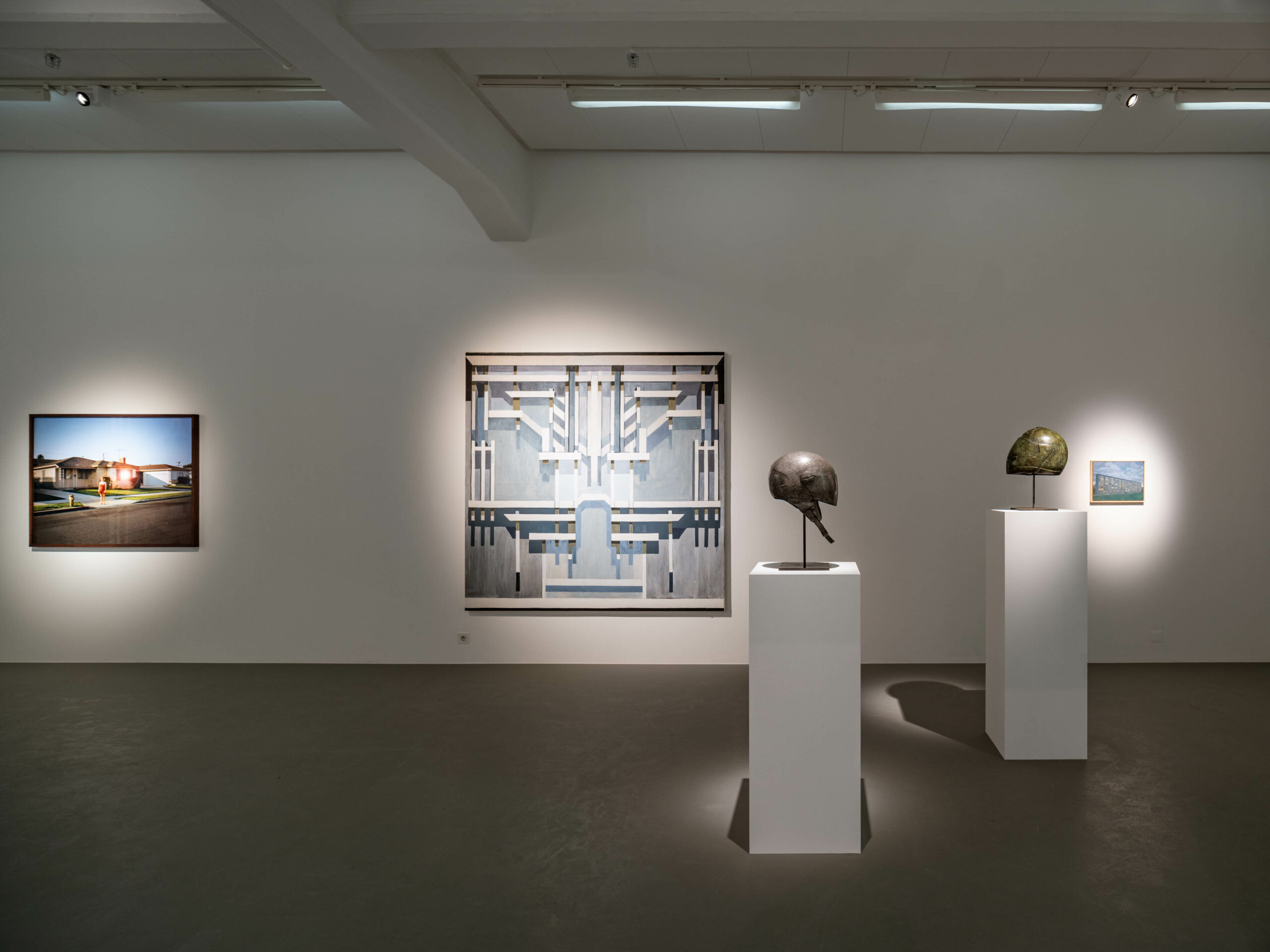 Installation view, Once in a Blue Moon, a group show with gallery artists, 2021, Cecilia Hillström Gallery. Photo: Jean-Baptiste Béranger