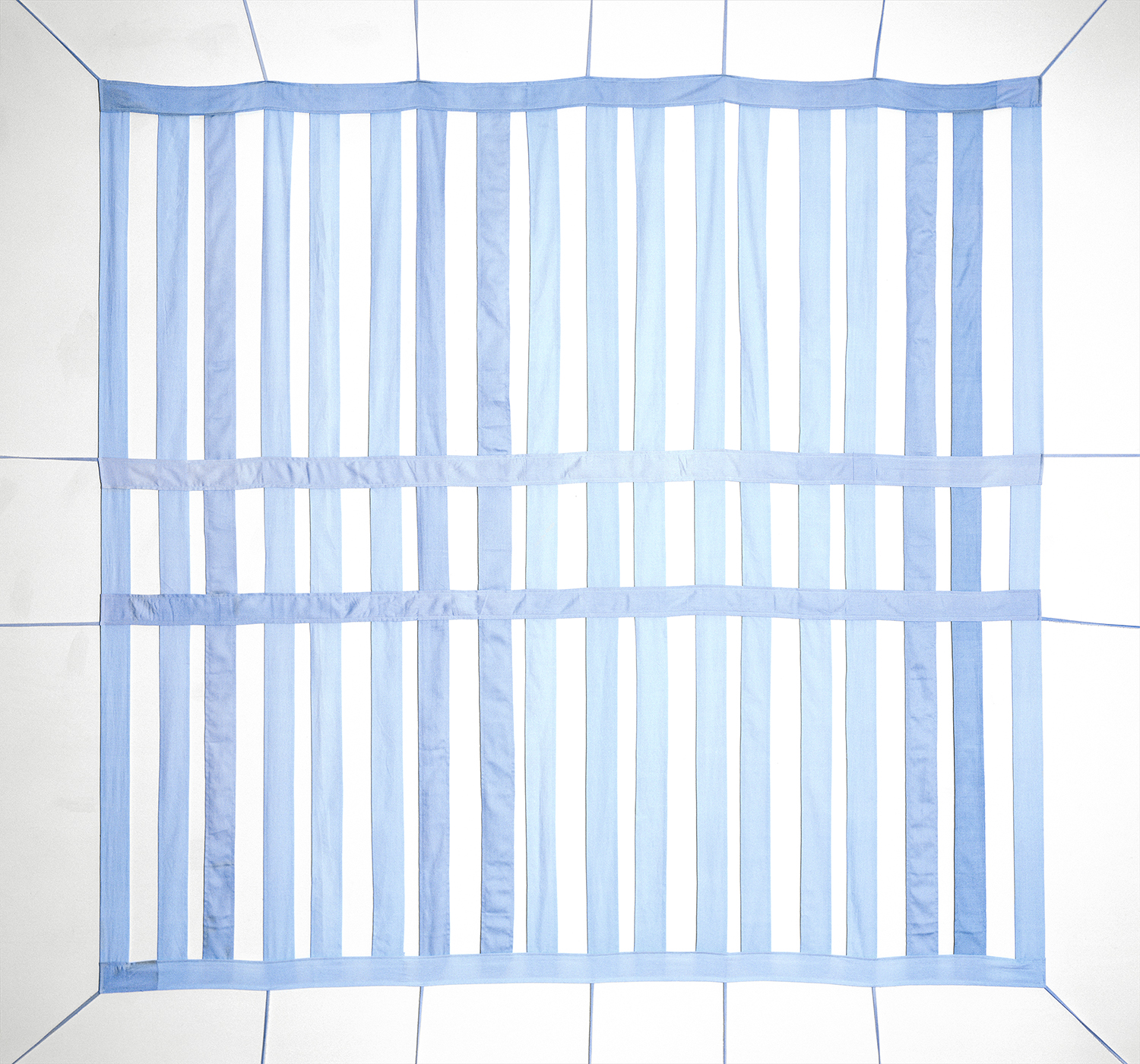 Linda Hofvander, The Partition, 2021, Pigment print, whitewashed frame, museum glass, 142 × 152 cm, edition of 3
